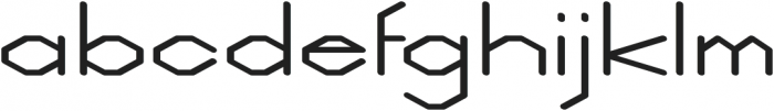 Weight regular otf (400) Font LOWERCASE