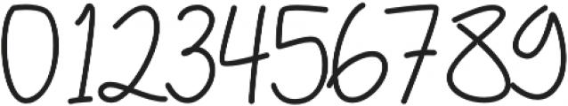 Weimbo 1 Regular otf (400) Font OTHER CHARS