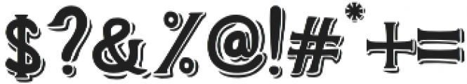 Weinston Typeface Regular otf (400) Font OTHER CHARS
