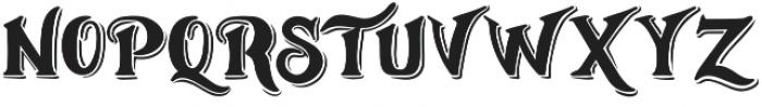 Weinston Typeface Regular otf (400) Font UPPERCASE