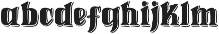 Weinston Typeface Regular otf (400) Font LOWERCASE