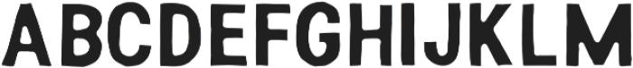 Weird Show Regular otf (400) Font LOWERCASE