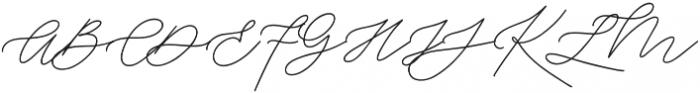 Weisston otf (400) Font UPPERCASE