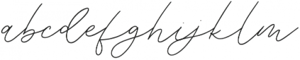 Weisston otf (400) Font LOWERCASE