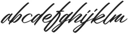 Welinedion Grande otf (400) Font LOWERCASE