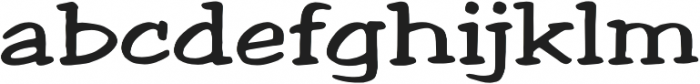 Welling Way Expanded Regular otf (400) Font LOWERCASE
