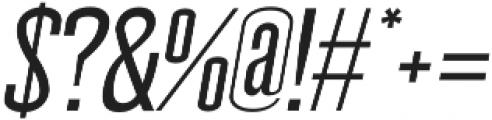 Wellston Medium Italic otf (500) Font OTHER CHARS