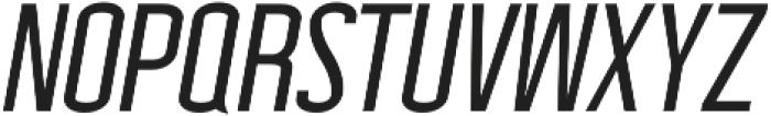 Wellston Medium Italic otf (500) Font UPPERCASE