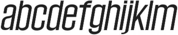 Wellston Medium Italic otf (500) Font LOWERCASE