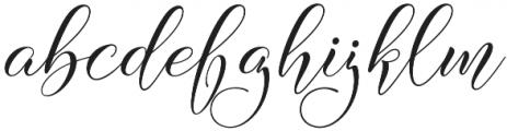Wellthington otf (100) Font LOWERCASE