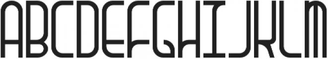 Wendo Regular otf (400) Font LOWERCASE
