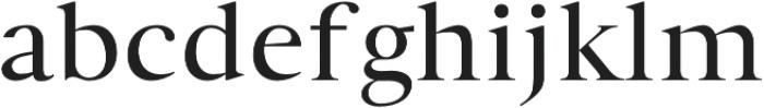 Wensley otf (400) Font LOWERCASE