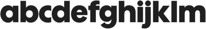 Wes FY Black otf (900) Font LOWERCASE