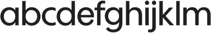 Wes FY Medium otf (500) Font LOWERCASE