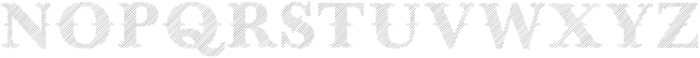West End Lined otf (400) Font LOWERCASE