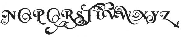 West End Simple otf (400) Font UPPERCASE