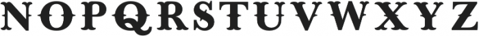 West End Simple otf (400) Font LOWERCASE