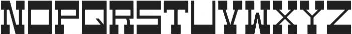 WestBot otf (700) Font UPPERCASE