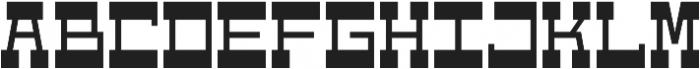 WestBot otf (700) Font LOWERCASE