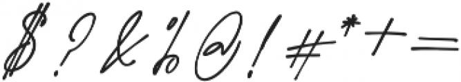 Westbury Signature alt 2 otf (400) Font OTHER CHARS