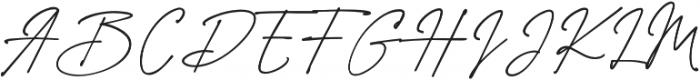 Westbury Signature alt 2 otf (400) Font UPPERCASE