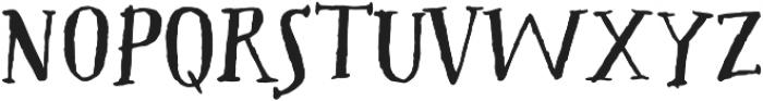 Westcoast Letters Decor otf (400) Font UPPERCASE