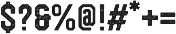 Westcraft Sans Stamp 1 otf (400) Font OTHER CHARS
