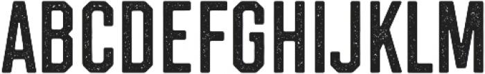 Westcraft Sans Stamp 1 otf (400) Font UPPERCASE