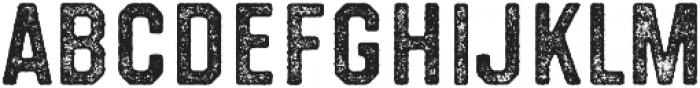 Westcraft Sans Stamp 3 otf (400) Font LOWERCASE