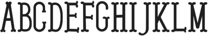 Westerish Regular otf (400) Font LOWERCASE