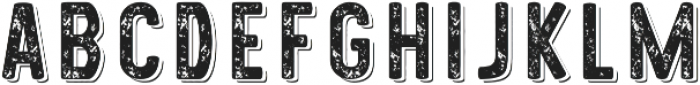 Westmorland Rough Shade otf (400) Font LOWERCASE
