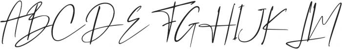 Westony Slant ttf (400) Font UPPERCASE