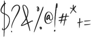 Westony otf (400) Font OTHER CHARS