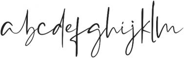 Westony otf (400) Font LOWERCASE