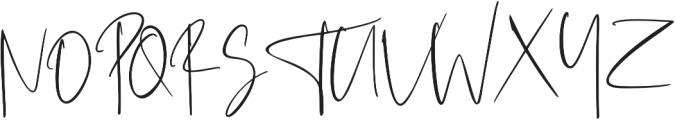 Westony ttf (400) Font UPPERCASE
