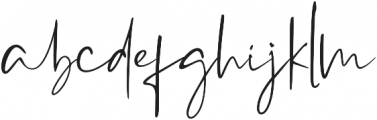 Westony ttf (400) Font LOWERCASE