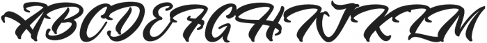 Westtgonia Barneh Regular otf (400) Font UPPERCASE