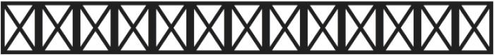 Westward Inverted Outline Shadow otf (400) Font UPPERCASE