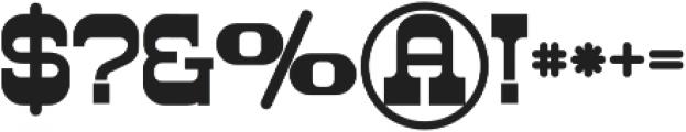 Westwood Bold otf (700) Font OTHER CHARS