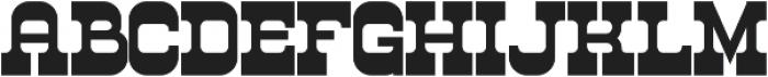 Westwood Bold ttf (700) Font LOWERCASE