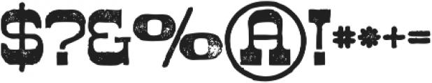 Westwood Grunge ttf (400) Font OTHER CHARS