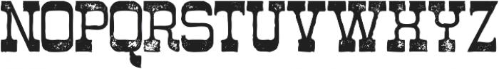 Westwood Grunge ttf (400) Font UPPERCASE