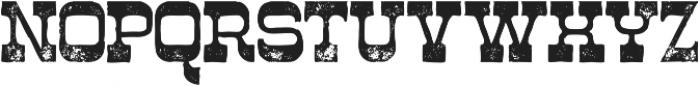 Westwood Grunge ttf (400) Font LOWERCASE