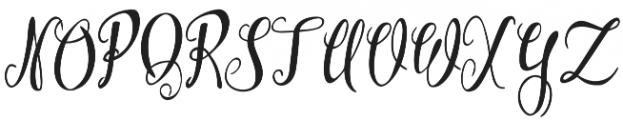 Westyler otf (400) Font UPPERCASE
