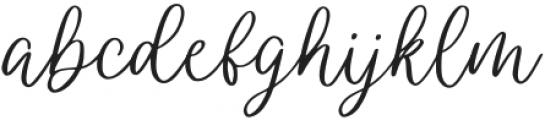 wendling otf (400) Font LOWERCASE