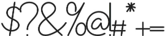 westjava script otf (400) Font OTHER CHARS