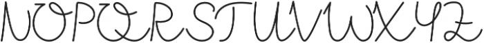 westjava script otf (400) Font UPPERCASE