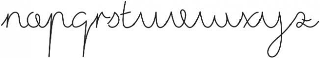 westjava script otf (400) Font LOWERCASE
