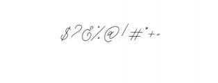 Weisston Script.ttf Font OTHER CHARS