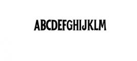 WelderMiles-Regular.otf Font UPPERCASE